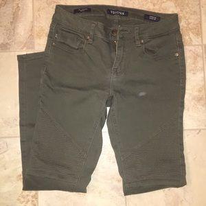 Vigoss army green skinny pants